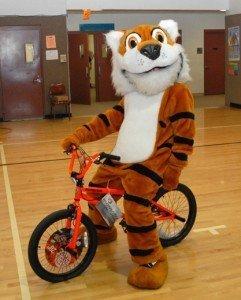 Lyndon Tiger on new bike