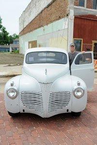 Tom Marsta showed the dream car of the show.