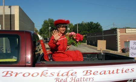 Beauty is in the eye of the beholder, but regardless of his or her looks, the unofficial parade queen was an honored guest on the Brookside Beauties' float.