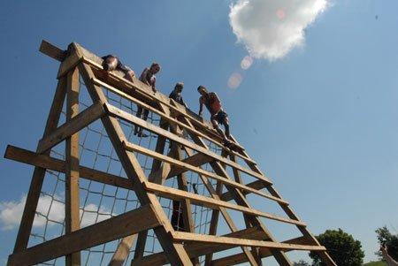 181/2-foot cargo net climb.