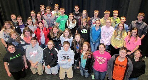 Osage City High School Band 2014