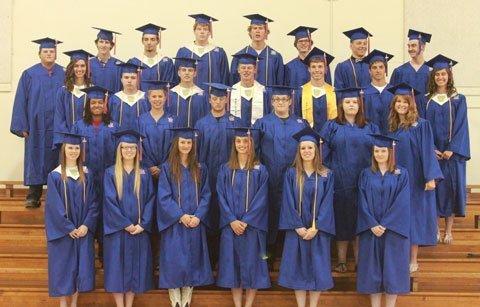 Presenting the 2014 graduating class of Marais des Cygnes Valley High School.