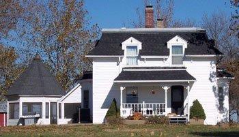 Schroeder Home, Hwy. 56.