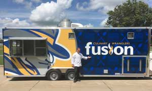 ospitality/Culinary Arts instructor, Chef Brian Romano and the new Culinary Wranglers Fusion Food Truck